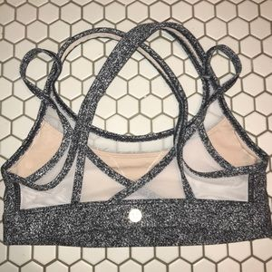 Lululemon Mesh Sports Bra